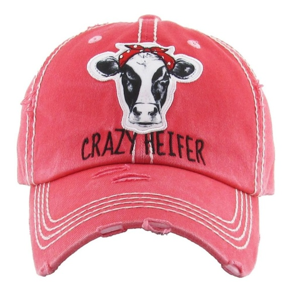 d30674e72c7594 ONE BLESSED NANA Accessories | Nwtboutique Crazy Heifer Hat | Poshmark